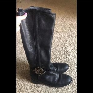 Tory Burch Tall Leather Boots